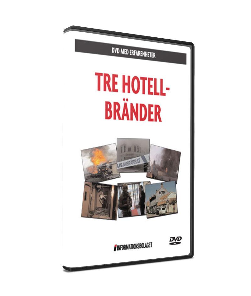 Tre hotellbränder