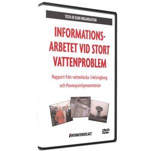Information vid stort vattenproblem