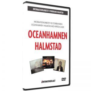 Storbranden i Oceanhamnen i Halmstad