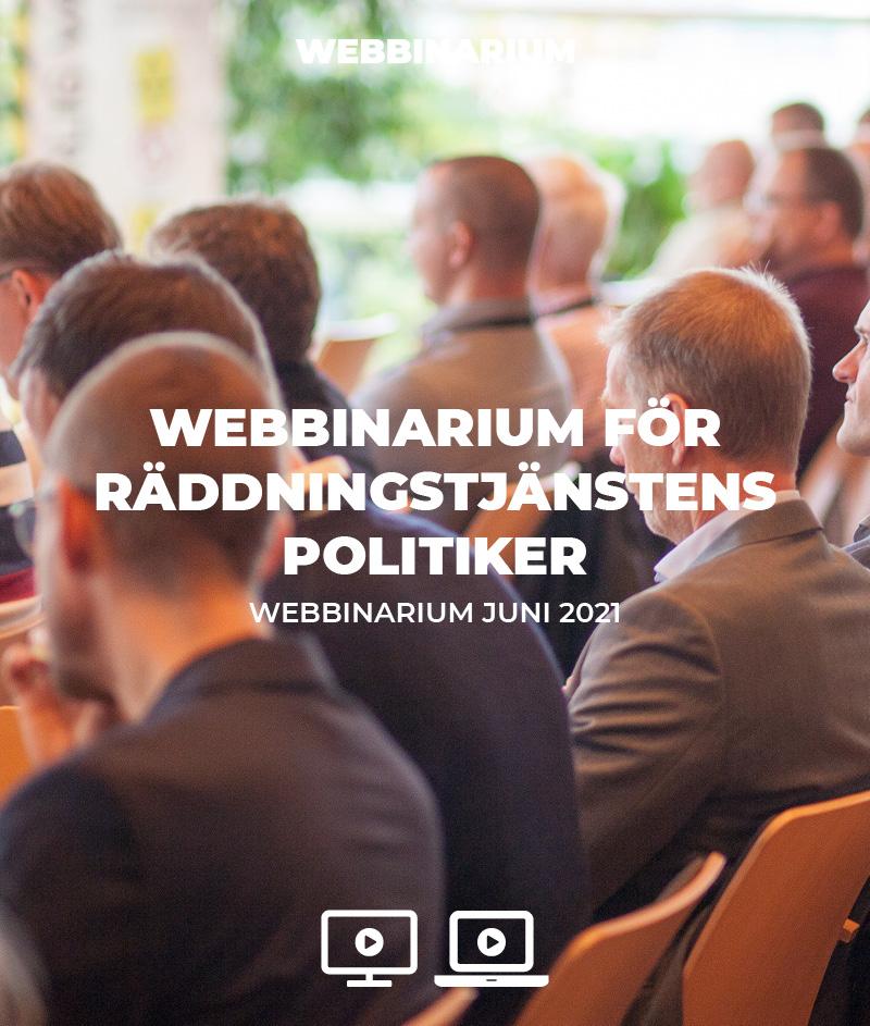 Webbinarium för räddningstjänstens politiker